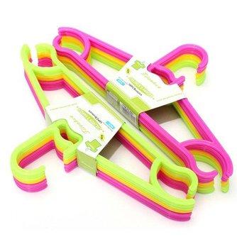 Kinderkledinghangers Non-Slip 10stuks
