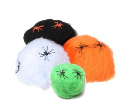 Halloween Spinnenweb Decoratie