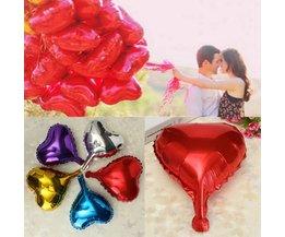 Hart Folie Helium Ballonnen