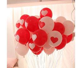 Ballonnen Hart 100Stuks