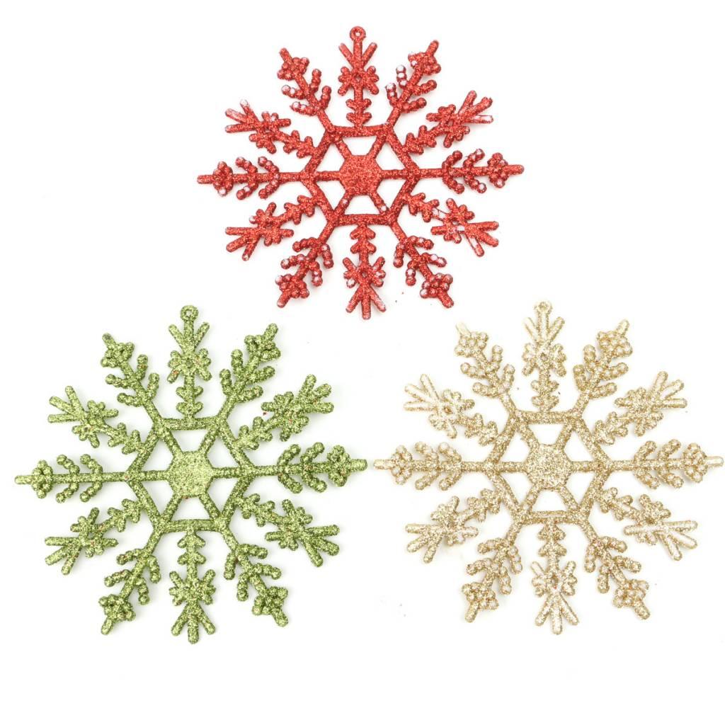 Sneeuwvlok Decoratie Kerstboom