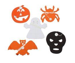 Halloween Slinger van Papier