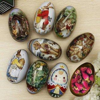 Prachtig Eivormig Geschenkdoosje voor Snoepjes