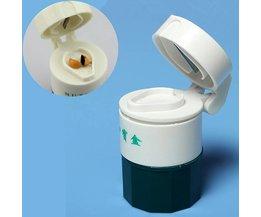 Praktische Pillensnijder met 4 Lagen