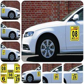 Sticker Met Cijfer