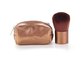 Kwast voor Foundation, Bronzer en Blush