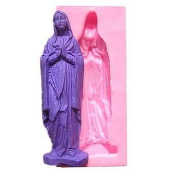 Maagd Maria Siliconen Vorm