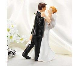 Poppetjes Voor Bruiloftstaart