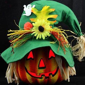 Pompoen Lantaarn Voor Halloween