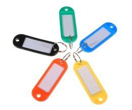 Gekleurde Sleutelhangers ook geschikt voor Koffers