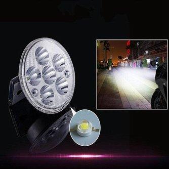 Scooter en Motor Koplamp met Wit LED Licht