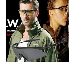 UV400 Sport Zonnebril voor Dames en Heren