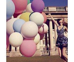 Grote Ballonnen van Latex 91cm 10 Stuks