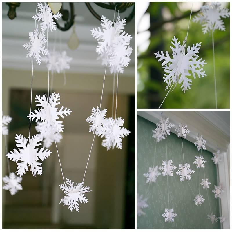 Sneeuwvlokken voor Decoratie