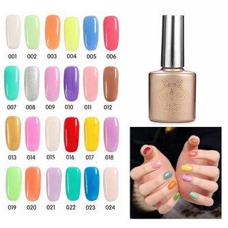 UV nagelgel  (24 kleuren)