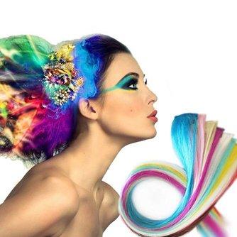 Haar Extensions Verschillende Kleuren 5 Stuks