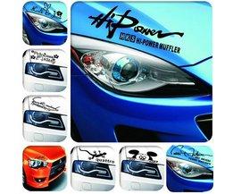 Koplampsticker Voor Je Auto