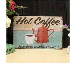 Poster voor in Cafe