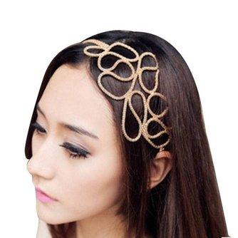 Gevlochten Haarband