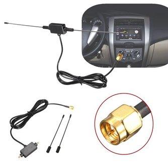 DVB-T Auto Antenne ISDB-T 433MHZ met Versterker en 1,5M Kabel