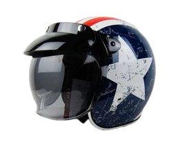 Lens Bubbel voor Motor Helm