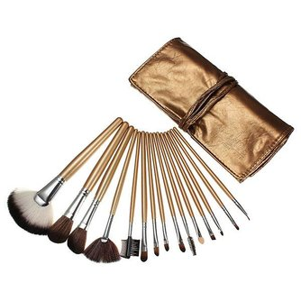 Make-Up Kwasten Set 15 Stuks