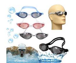 Zwembrillen In de Kleur Grijs, Blauw en Roze