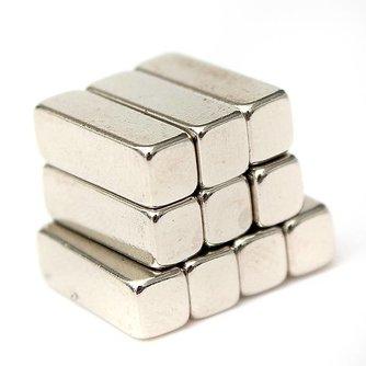 Magneetje Neodymium 10 Stuks