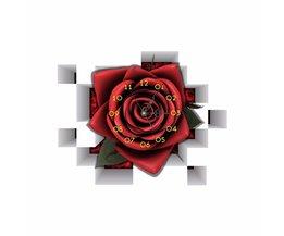 PAG Sticker Roos met Klok