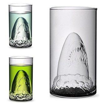 Drankglas met Haaivormpje
