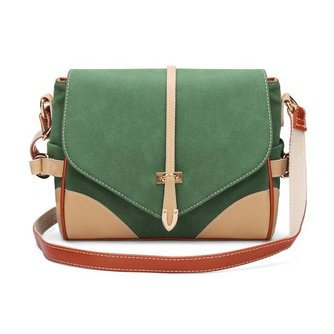 Messenger Tas Dames Tweekleurig