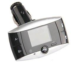 FM Transmitter Met Bluetooth Voor Je Auto