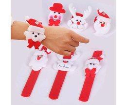 Klap Armband Kerstmis
