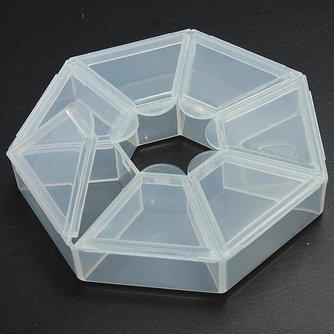 Kralenbox voor het Opbergen van Kralen en Sieraad Onderdelen
