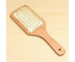 Houten Antistatische Haarborstel