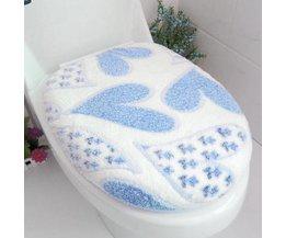 Toiletbril Matten van Fleece