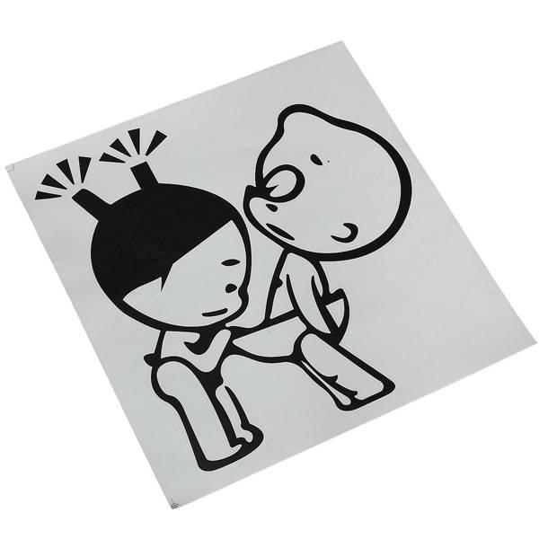 grappige stickers online bestellen i myxlshop tip. Black Bedroom Furniture Sets. Home Design Ideas