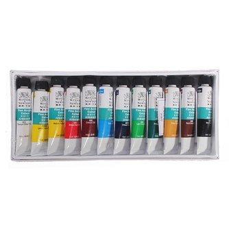 Acryl Nagel Verf Set  voor Mooie Effecten op je Nagels (12 Kleuren)