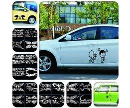 Stickers Voor Auto Deur