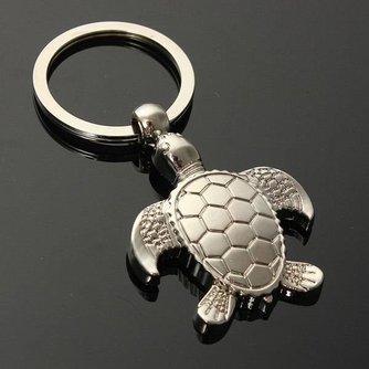 Metalen Sleutelhanger Schildpad