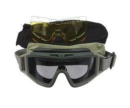 Beschermende Bril Voor Motorrijders