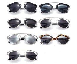 Vintage Zonnebril Voor Mannen en Vrouwen