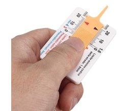Profielmeter Voor Je Autobanden