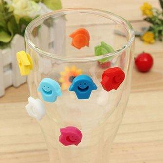 Glas Idenitifiers 8 Stuks