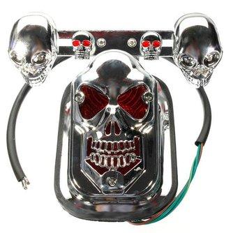 Doodskop Lampen voor Motor