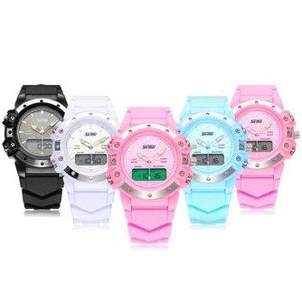 SKMEI 0821 Rubberen Horloge In Verschillende Kleuren
