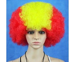 Clownspruik Spaanse Vlag