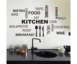 Muursticker Voor In De Keuken
