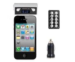 FM Transmitter Voor Mobiele Telefoon