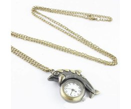 Zak Horloge Dolfijn